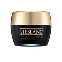 Увлажняющий крем для лица с муцином Черной улитки Black Snail Repair Moist Cream, Steblanc
