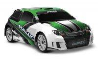 Радиоуправляемая машина TRAXXAS LaTrax Rally 1/18 4WD (Зелёный)