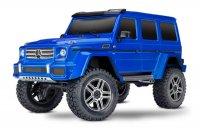 Радиоуправляемая машина TRAXXAS TRX-4 Mercedes G 500 1:10 4WD (голубой)