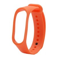 Ремешок для фитнес-браслета Xiaomi Mi Band 3/4 Strap (Orange)