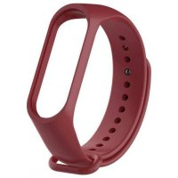 Ремешок для фитнес-браслета Xiaomi Mi Band 3/4 Strap (Red)