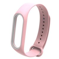 Ремешок для фитнес-браслета Xiaomi Mi Band 3/4 Strap (Pink)