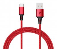Кабель Xiaomi Mi Braided USB Type-C Cable 100cm (Red)