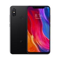 """Смартфон Xiaomi Mi 8 Black (M1803E1A), 6.21"""" 2248x1080, 2.8GHz, 8 Core, 6GB RAM, 64GB, 12Mpix+12Mpix/20Mpix, 2 Sim, 2G, 3G, LTE, BT v5.0, Wi-Fi, GPS,"""