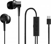 Наушники XIAOMI Mi Noise Cancelling Earphones Type-C (Черный)